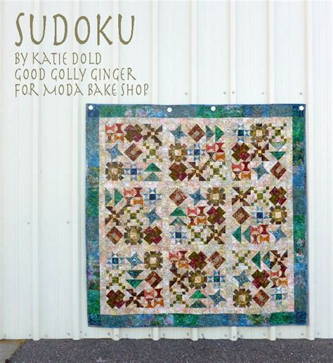 Moda Bake Shop Quilt Patterns by Moda Bake Shop Free Pattern Sudoku By Kate Dold Using