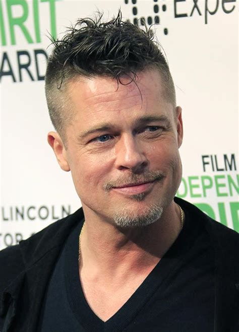 Brad Pitt Hairstyle by Hairstyles Brad Pitt Hairstyles 2017