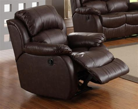 best leather recliner best design leather rocker recliner doherty house