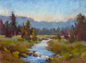 Landscape Pictures By Artists Pastel Paintings On Soft Pastels Landscape