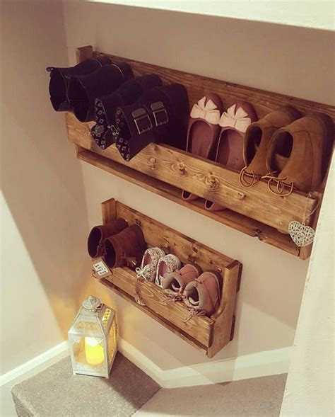 Storage Shoes Organizer Rak Susun Sepatu High Heels Sandal 2 Tingkat best 25 wooden shoe racks ideas on wooden