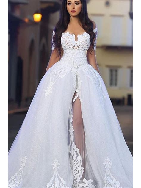 Shoulder Lace Wedding Dress lace the shoulder wedding dresses bridal gowns 99603032