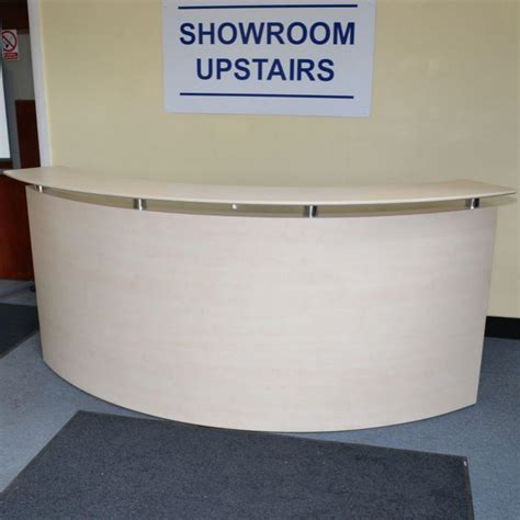 Maple Reception Desk Maple Reception Desk Glasstop Maple Reception L Desk Maple Finish Reception Desk With