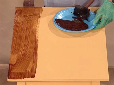 how to paint a faux wood grain how tos diy - How To Paint Faux Wood