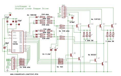 transistor bipolar stepper motor driver change bipolar to mosfet in stepper driver