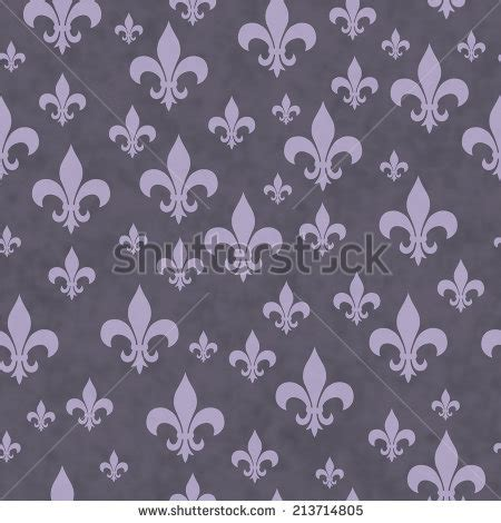 pattern repeat in french french damask background fleur de lis stock vector
