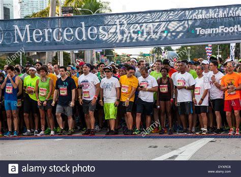 Mercedes Corporate Run Miami by Mercedes Miami Corporate Run Stock Photos Mercedes