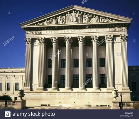Court Search Washington Dc Supreme Court Of Justice Washington Dc Usa Stock Photo Royalty Free Image