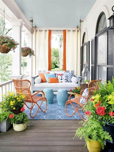 balkon teppich günstig design orientalisch balkon