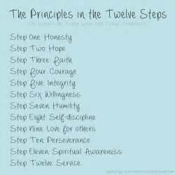 Aa 12 steps the principles in the twelve steps aa oa na sa fa