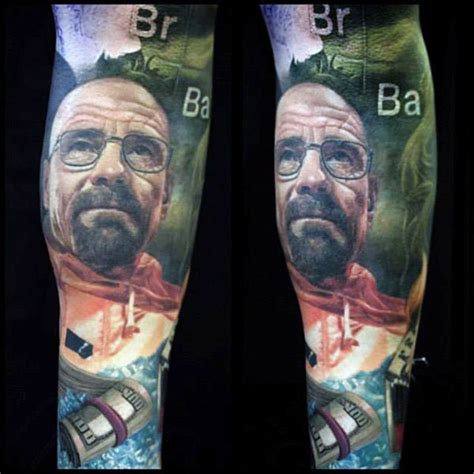 breaking bad tattoo 50 breaking bad designs for walter white ink