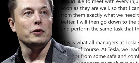 elon musk when he proved everyone wrong elon musk being a true leader shows highest concern for