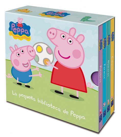 libro peppa pig peppa goes cuento la peque 241 a biblioteca de peppa peppa pig edukame