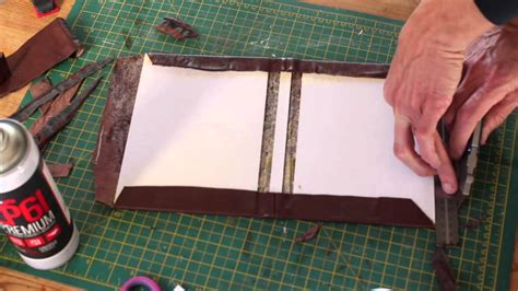 How To Make A Book Jacket Out Of Paper - a leather bound hardcover notebook journal simple