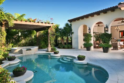 mediterranean pools landscaping backyard oasis 18 pool design ideas in