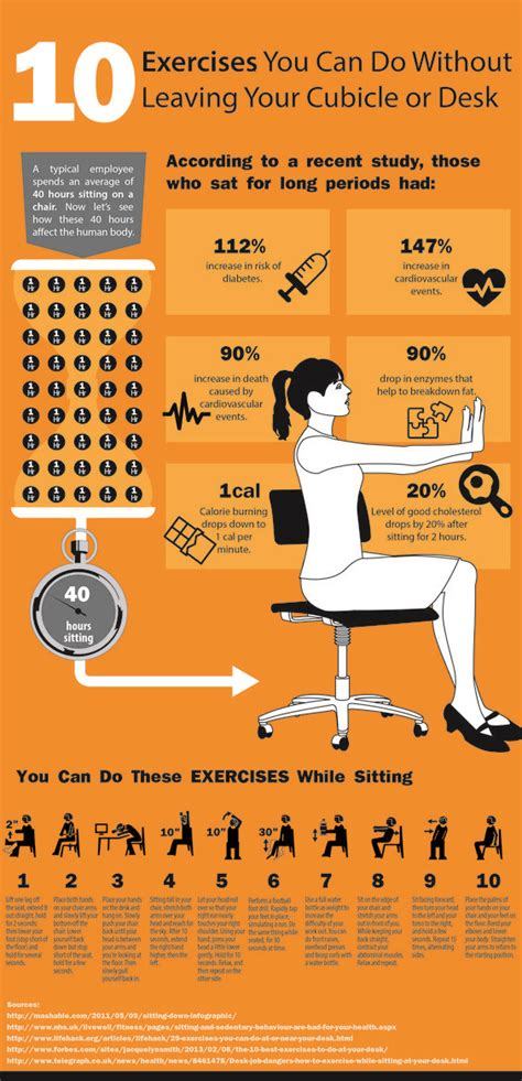 10 simple exercises you can do at your desk to improve