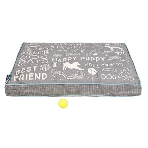 max studio dog bed max studio chalkboard rectangle dog bed 40x28 save 41