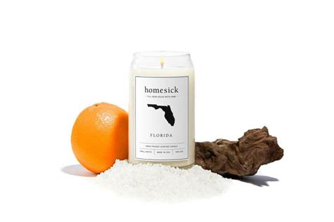 candles that smell like your state homesick candles candles that smell like each state
