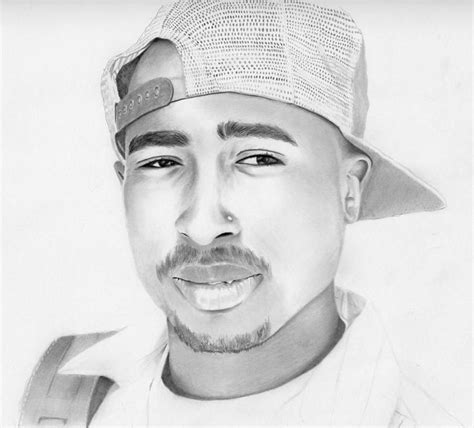 2pac Sketches by 2pac Drawing Tupac 2pac