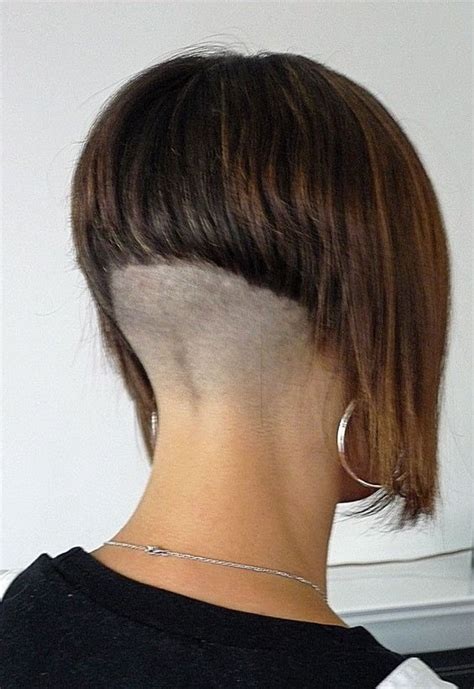 bob haircuts with shaved necks sexy hair and google on pinterest