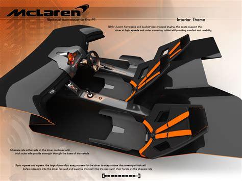mclaren lm5 concept mclaren lm5 concept by matt williams at coroflot com