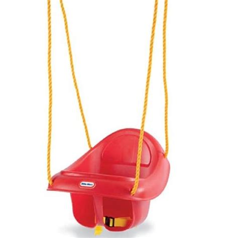 fisher price red swing little tikes high back toddler swing standard packaging