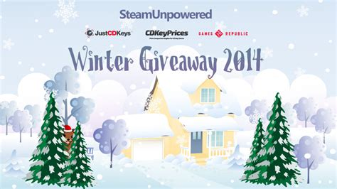 Steam Giveaway 2014 - winter giveaway 2014 archives steam unpowered