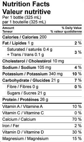 protein 2 go milk 2 go sport vanilla milk protein shake walmart canada