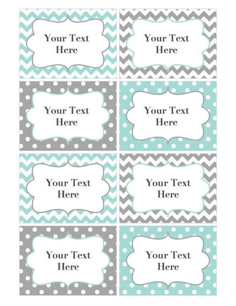 baby shower place cards template name tags editable labels cards jpg file printable baby