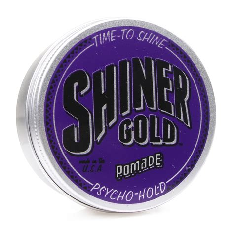 Pomade Hold shiner gold pomade psycho hold