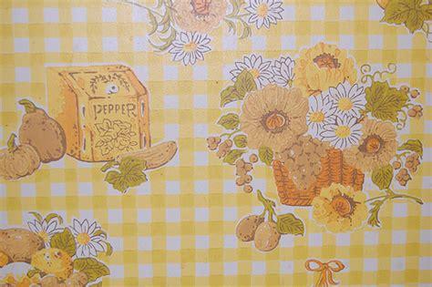 yellow kitchen wallpaper 60s yellow kitchen wallpaper flickr photo