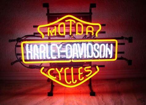 harley davidson neon light neon sign enseigne lumineuse am 233 ricaine harley davidson