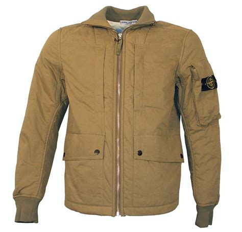 bomber jacket island beige padded bomber jacket jackets from designerwear2u uk