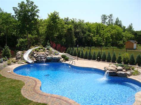 Backyard Landscape On A Budget Poolscapes Gasparini Landscaping