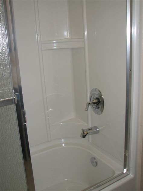 In The Shower by Bathroom 1 New Shower Enclosure A Home In The