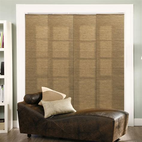 chicology adjustable sliding panel cut to length curtain drape vertical blind woven