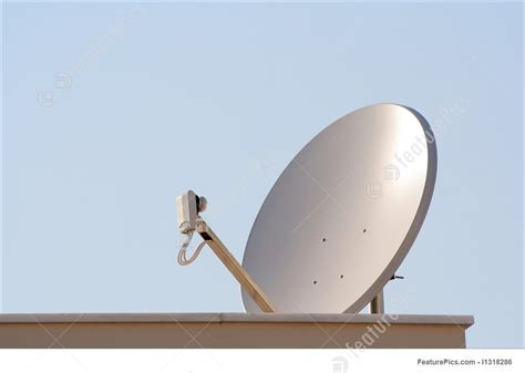 communication technology tv satellite antenna stock photo i1318286 at featurepics