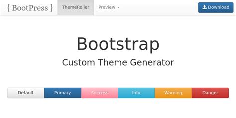 bootstrap themes maker bootstrap themes