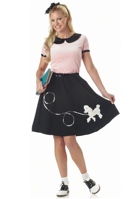 poodle skirt costume 1950s costumes