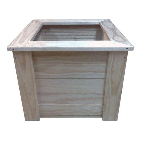 square planter boxes square planter box 600x600x500 breswa outdoor furniture