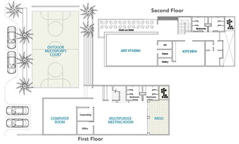 youth center floor plans help fund community centers in la esperanza colombia