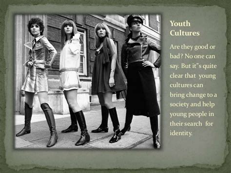 Youth Culture youth culture