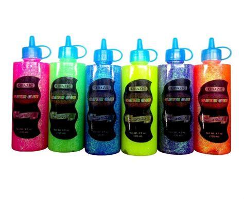 Glitter Glue Bazic Lem Glitter bazic neon color glitter glue 4oz 120ml