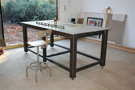 Metal Shop Table by Avoid Metal Warping On Shop Table Top And Legs Pirate4x4