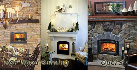 Opel 3 Fireplace by Rsf Wood Burning Opel 3 Fireplace From Mississauga Home