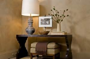 delightful How To Decorate A Kitchen Table #1: console-table-entryway-lighting-under-storage.jpg