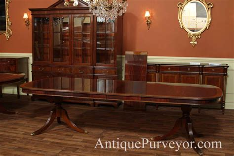 mahogany dining room table dining table mahogany regency dining table