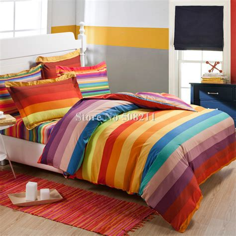 rainbow bedding full home decor interior exterior