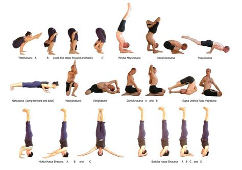 ashtanga poses chart willian holtby primary series completed 1 and 2