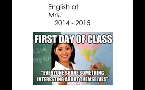 First Day Of Class Meme - pin by allison mock on school counseling pinterest